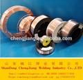 A 0.6mm 1.6mm co2 gas de cobre escudo- recubierto de sólidos alambre de soldadura mig er70s-6