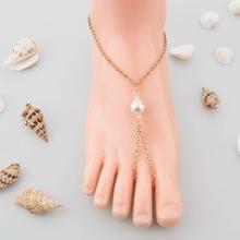 Simple baratos perla grande todo- partido descalzo sandalias de venta al por mayor