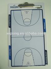 basketball coach A4 clipboard with pen holder