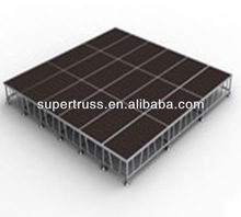 economical & practical portable outdoor event stage on sale