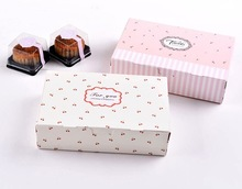 Cute paper cupcake box/boxes for cake/paper cake box