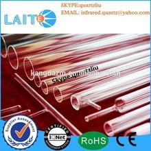 One side close quartz glass tube