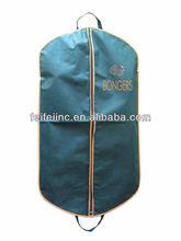 foldable personalized wholesale cotton fabric garment bag for men