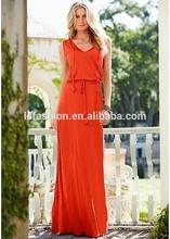 Hot Sale Long Maxi High Waist Casual Dress Code