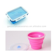 New Fashion food grade butane hash oil silicone container made in China