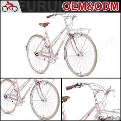 "New style steel frame 26"" city bike cheap"