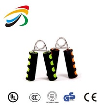 Indoor exercise colorful high quality steel fitness hand grip