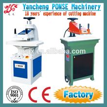 Hydraulic press swing arm die cutting machine