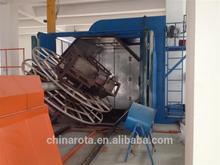 3 arms rotomolding machine crumb rubber machinery shuttle type china rotomoulding