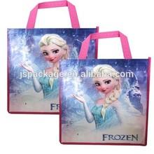 Eco Friendly Frozen Non Woven Gift Bags
