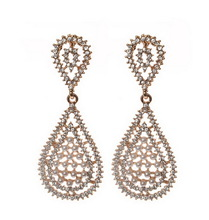 Bottom price most popular hot selling crystal rhinestone earrings