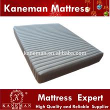 Thick PU foam and memroy foam knitted fabric compressed mattress