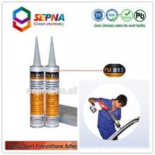 polyurethane sealant for car roof/car roof pu sealant with high tear strength PU813