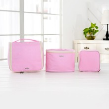 Hot selling hanging foldable toiletry bag e-bay and aliexpress set of 3