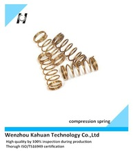 Wire compression spring copper made mini compression spring