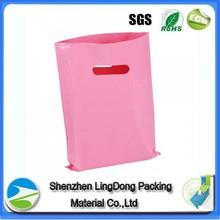 Cheap die cut polyester folding shopping bag
