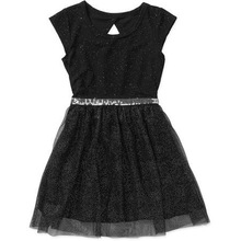 High Quality Baby Girls Mesh Outside Panel Dress Wholesale