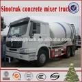 çin tedarikçisi SINOTRUK howo 8-12cbm beton mikser kamyonu