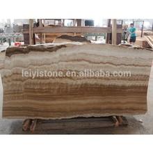 Natural wood grain onyx serpeggiante stone