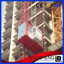 SC100/100 double cages passenger used construction hoist