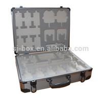 aluminum case with foam padding