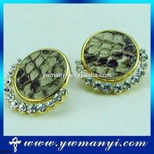 Alibaba nice women accessories rhinestone crosses for earrings
