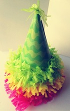 Lovely peaked cap paper party hats for birthday party decorations