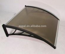 Denmir Door & Window Awning-Canopy (Polycarbonate Twin Wall-Brown 6 ft X 39 in)100% Virgin Materials