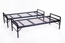 home/hotel cheap single metal bed frame