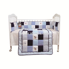 2015 New design kids bed sheets china manufacturing, baby bedding set full bed china manufacturer 100% cotton shell comforter