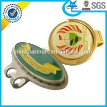 Golf ball marker/ golf hat clip/magnetic golf ball marker