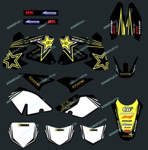 DST0006 TEAM GRAPHICS&BACKGROUNDS DECALS Stickers FOR SUZUKI DRZ400 DRZ 400 2001- 2005 2006 2007 2008 2009 2010 2011 2012