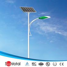 30w 6m smart lighting LED Solar Road Lights for Parking Lot/School/Garden/Hospital