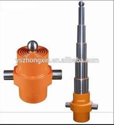 telescopic hydraulic cylinder 5 stage small hydraulic cylinder 2 ton
