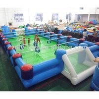inflatable human foosball