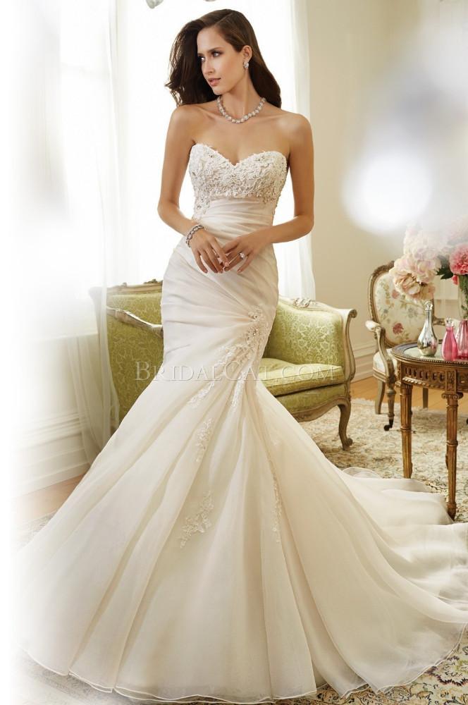 Wholesale 2015 lace appliqued mermaid modern wedding dress alibaba