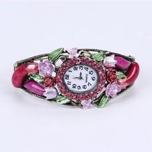 new flower women fashion hand watch