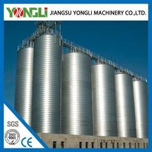 Economical steel cone/hopper grain corn flour mill silo