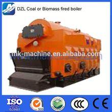 Coal/wood-fired low pressure biomass pellet hot water boiler