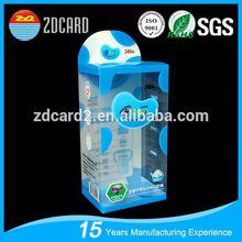 High quantity clear keyway plastic storage box