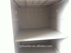 ABS plastic beach 6 door locker