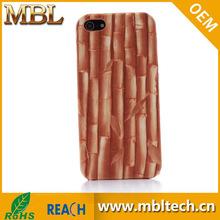 Wood Texture Plastic Case for iPhone 5 5s, Plain Wood Texture Hard Case Cover for iPhone 5s