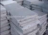 china blue raw limestone steps paver