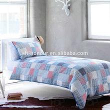 Thick Reversable Ployester Satin Bedding Comforter Set