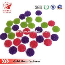 Low price colorful custom 3m adhesive velcro dots