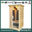 new wood far infrared sauna cabin KL-100C-H