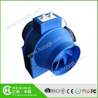 Temperature & Variable Speed flexible plastic centrifugal fan