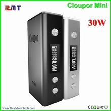 Wholesale Cloupor mini arravial! Eelectronic cigarette battery Cloupor mini 30w mod