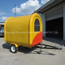 Commercial Trucks and Mobile Tricycle Electric Fast CE Certified Food Vans for Sale ZS-FT220 B