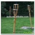 Audu antorcha de bambú, 35 pulgadas exterior antorcha de bambú, Al óleo del jardín de bambú de la antorcha